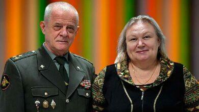Квачков с женой
