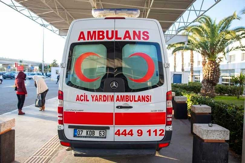 Скорая помощь Турция