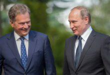 Саули Ниинистё и Путин