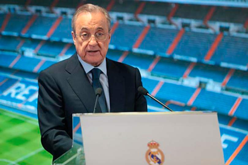 Президент мадридского Реала