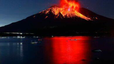 Вулкан Сакурадзима
