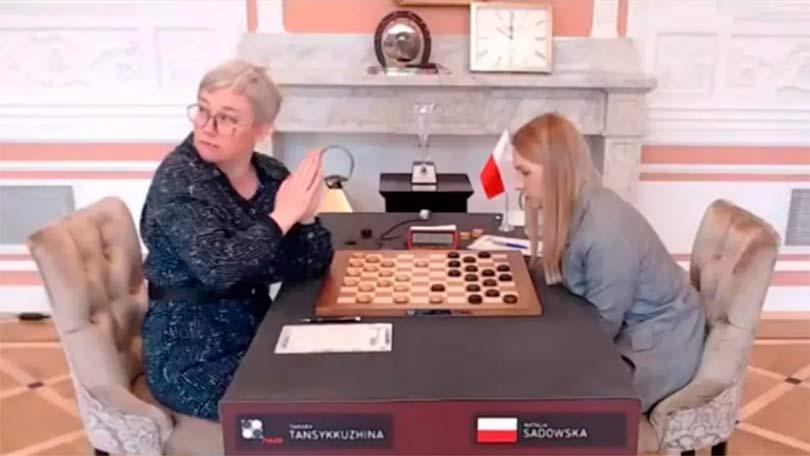 Российская шашистка Тамара Тансыккужина