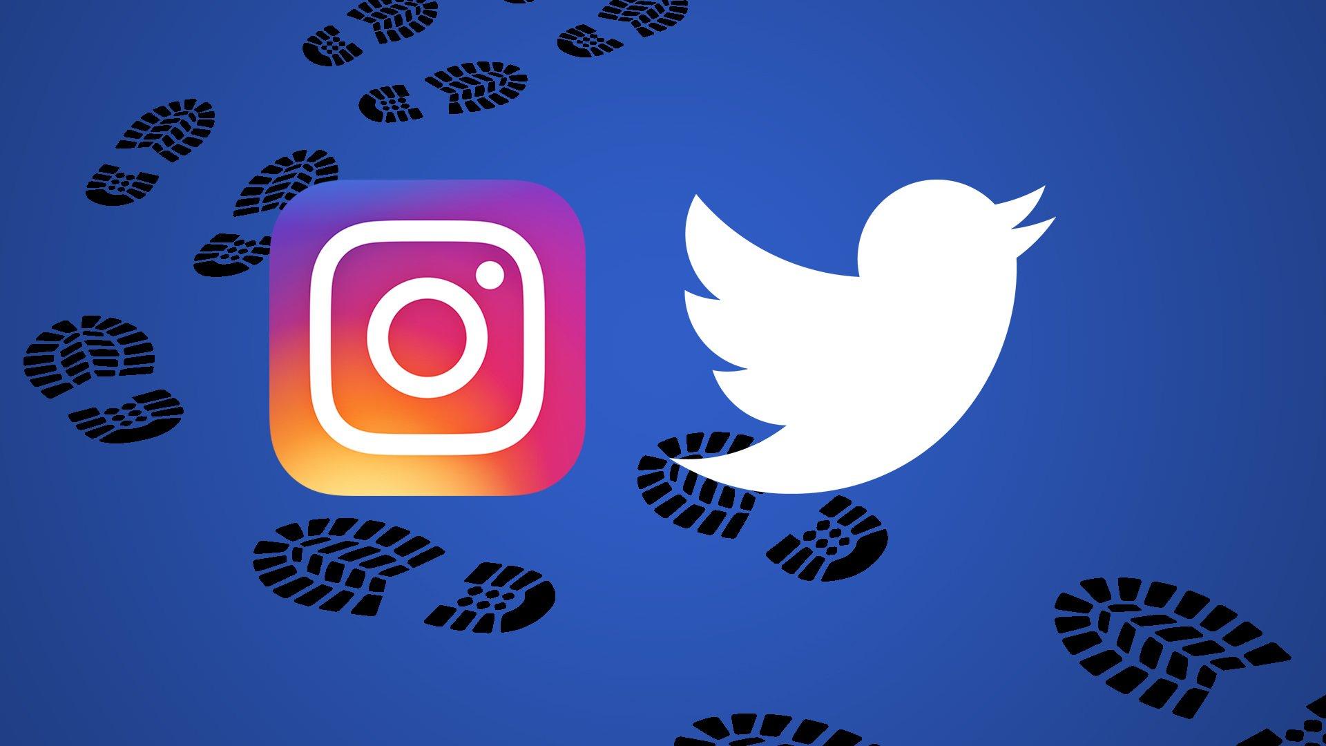 Twitter и Instagram