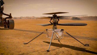 Вертолетом Ingenuity