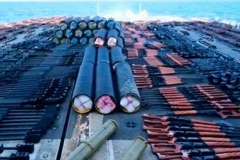 ВМС США сообщил об изъятии с судна в Аравийском море оружия российского происхождения