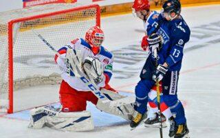Российская сборная проиграла сборной Финляндии в матче Еврохоккейтура