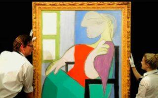 Картина Пабло Пикассо была продана за рекордную сумму в 103 млн долларов