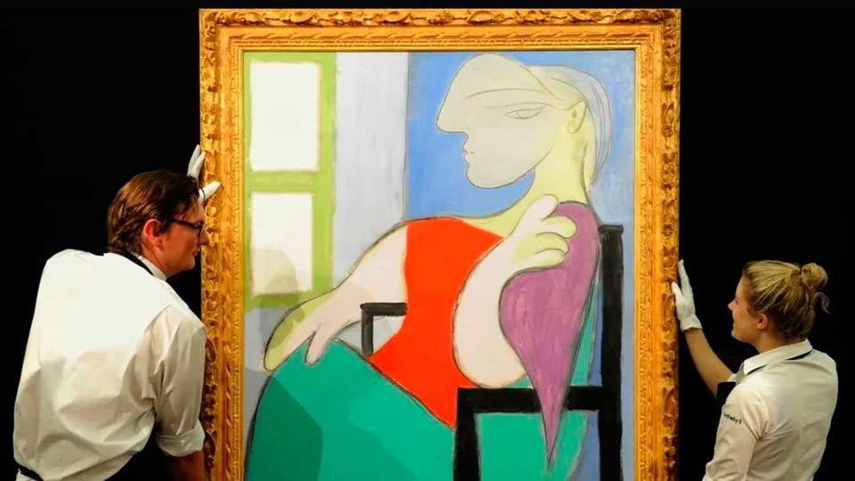 Картина Женщина, сидящая у окна
