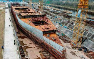 В Китае строится копия Титаника, что вызывает опасения