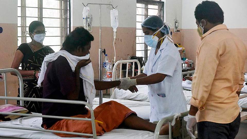 В Индии набирает силу новая болезнь, «черная плесень» или мукормикоз