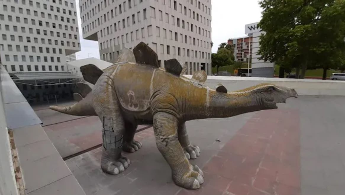 Испанский динозавр