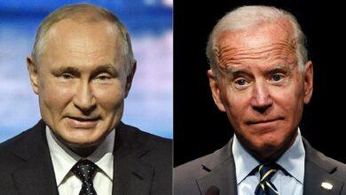 Путин и Байден