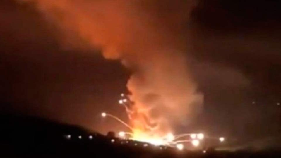 Взрыв на оборонном заводе в Сербии