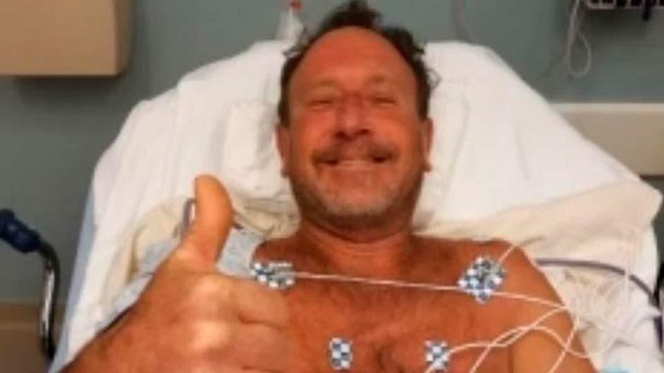 Кит проглотил аквалангиста, но ему удалось спастись