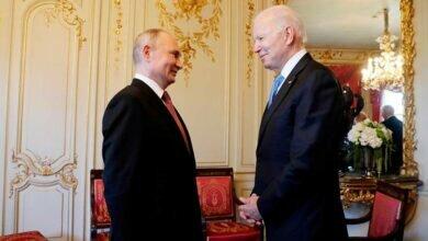 Встреча Путина и Байдена