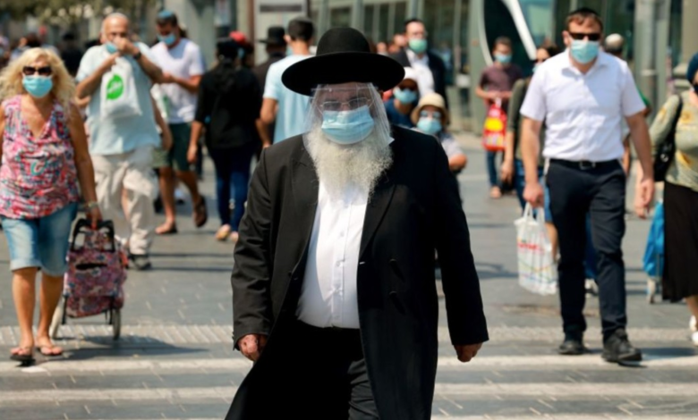 Ношение масок в Израиле