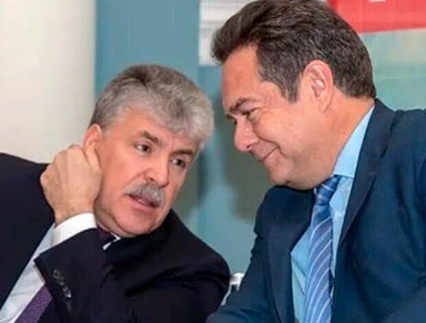 Платошкин и Грудинин
