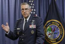 Генерал Джон Хайттен Пентагон