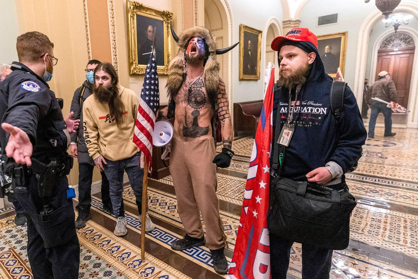 Штурм Капитолия в США