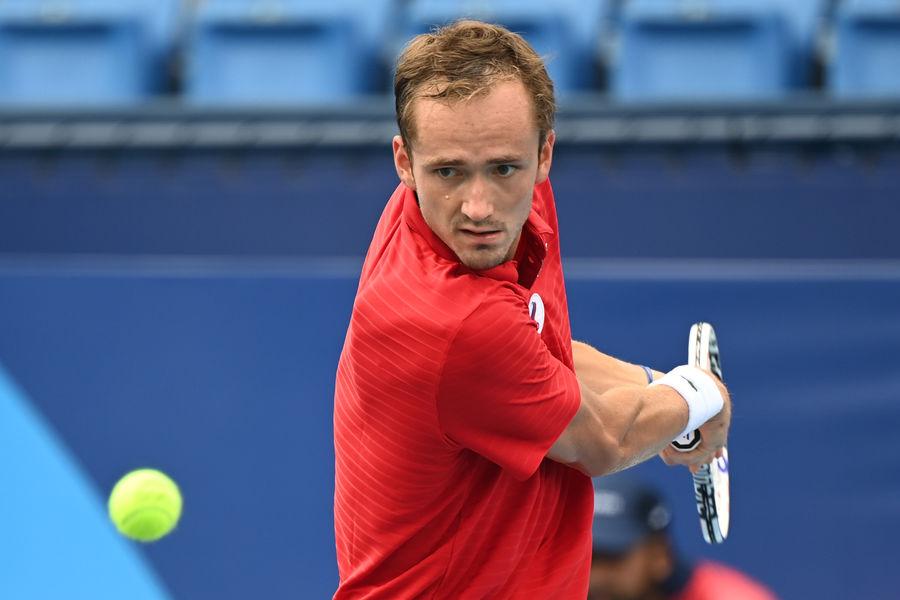 Российский теннисист Медведев