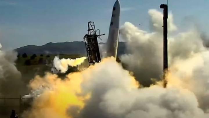 Пуск ракеты от компании Astra