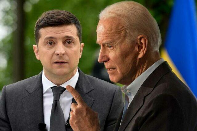 Зеленский попросил Байдена о помощи в освобождении 450 украинских заключенных