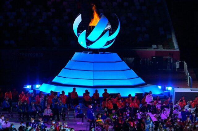 Церемония закрытия Паралимпиады прошла в Токио в воскресенье