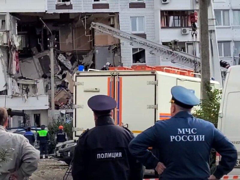 МЧС работают на месте взрыва в Ногинске