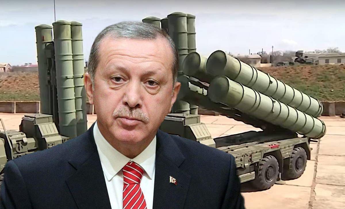 Эрдоган и ЗРК С - 400