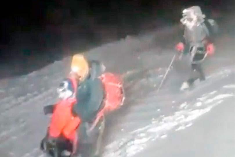 Альпинисты на Эльбрусе