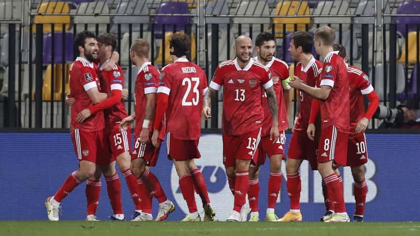 Победа сборной России по футболу