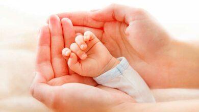 Пальчики младенца