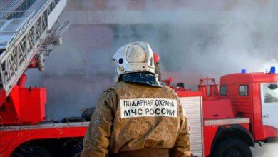 Пожарный в России